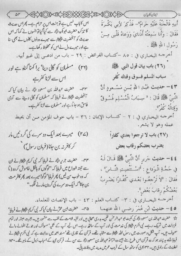 Hadees in Urdu, Hadith, Sunnah, Bukhari, Muslim, Dawud, Muwatta
